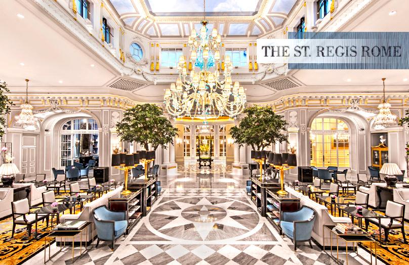 The St. Regis Rome - Ispirazioni dal leggendario hotel di lusso