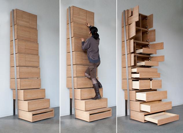 Minimale ruimte maximaal opbergen westwing magazine - Versieren van een muur in ...