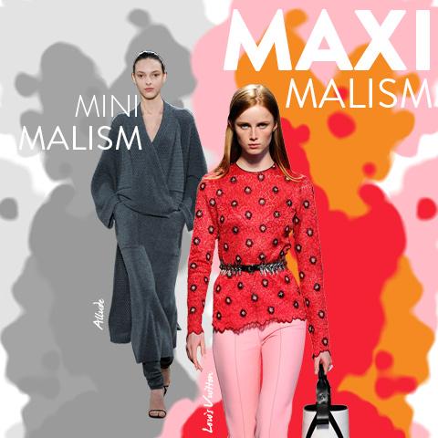 Trend Report: minimalism vs. maximalism