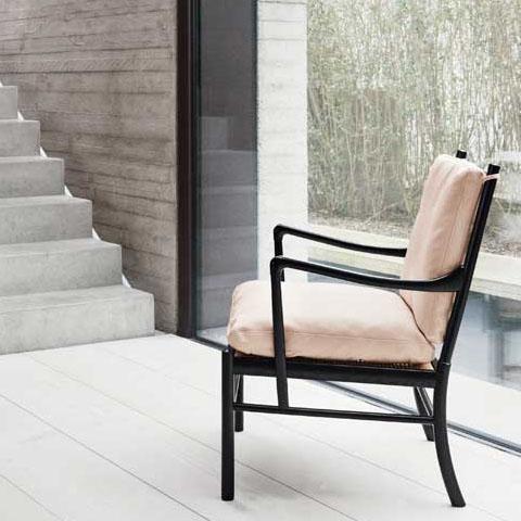 De Colonial Chair van Ole Wanscher