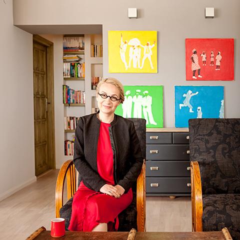 Binnenkijken bij Marta Suchodolska in Warschau
