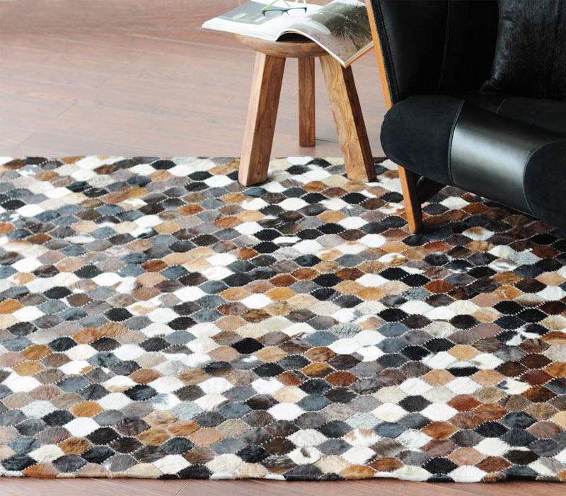 mosaic-cushion---medium-brown-overall