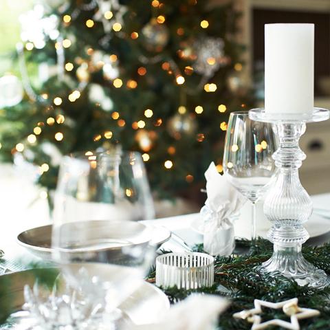 Een kerstfeest in zilver