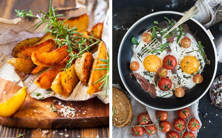 Omelet-met-aardappels