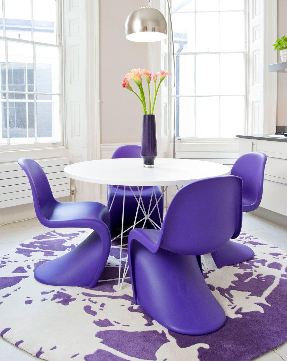 Westwing paars tapijt