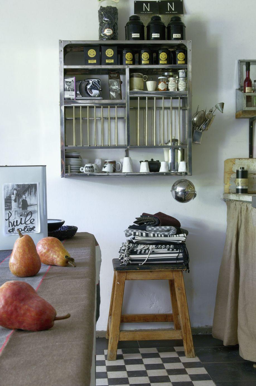 Wanddecoratie Keuken : wanddecoratie keuken wandrekje met mokken en glazen