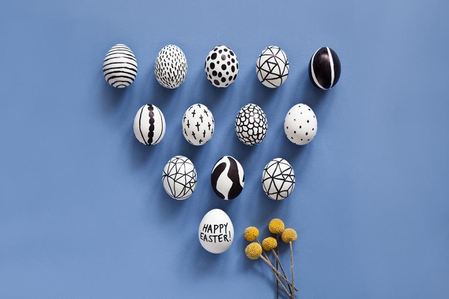 Westwing-Pasen-zwart-wit-eieren