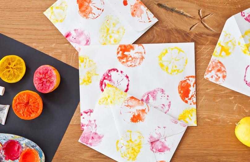 DIY: zomers briefpapier