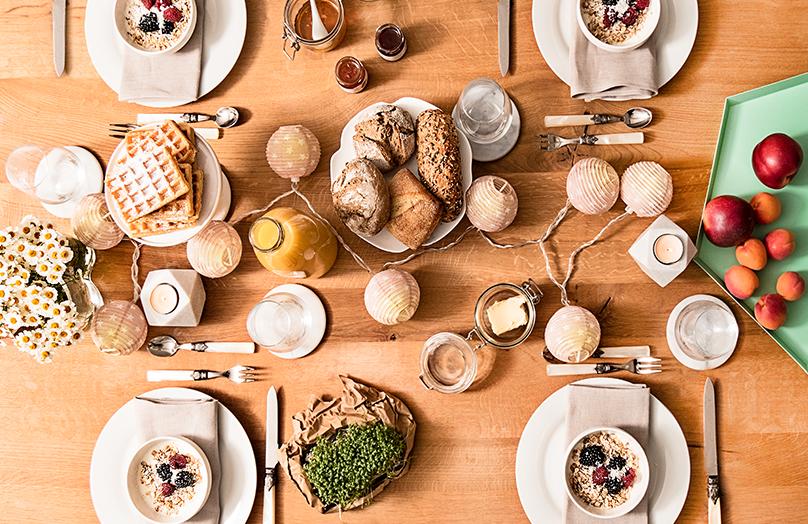 3 bijzondere eettafel looks