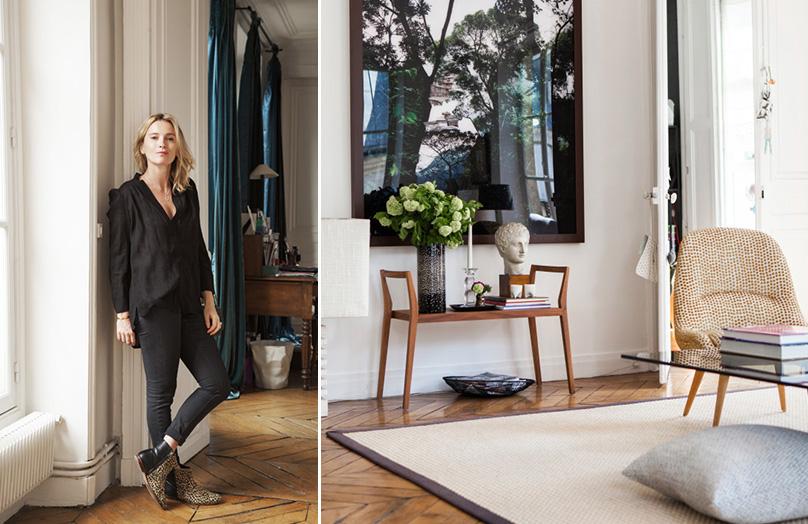 Het Parijse huis van Florence Donné - oprichter van RingtheBelle