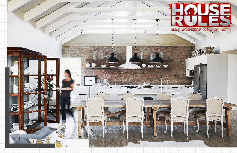 House Rules aflevering 6: een huis met oude elementen
