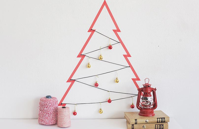 DIY: 3 kerstboom ideeën voor kleine ruimtes