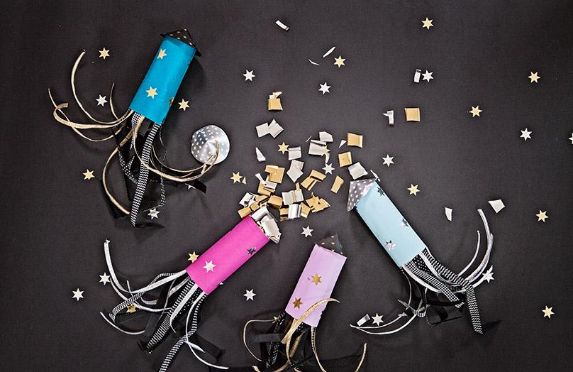 DIY: Confetti raketten