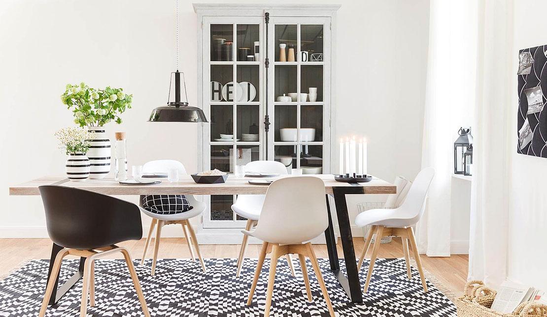 De ideale eetkamer cre er je zo westwing magazine - Deco van woonkamer eetkamer ...