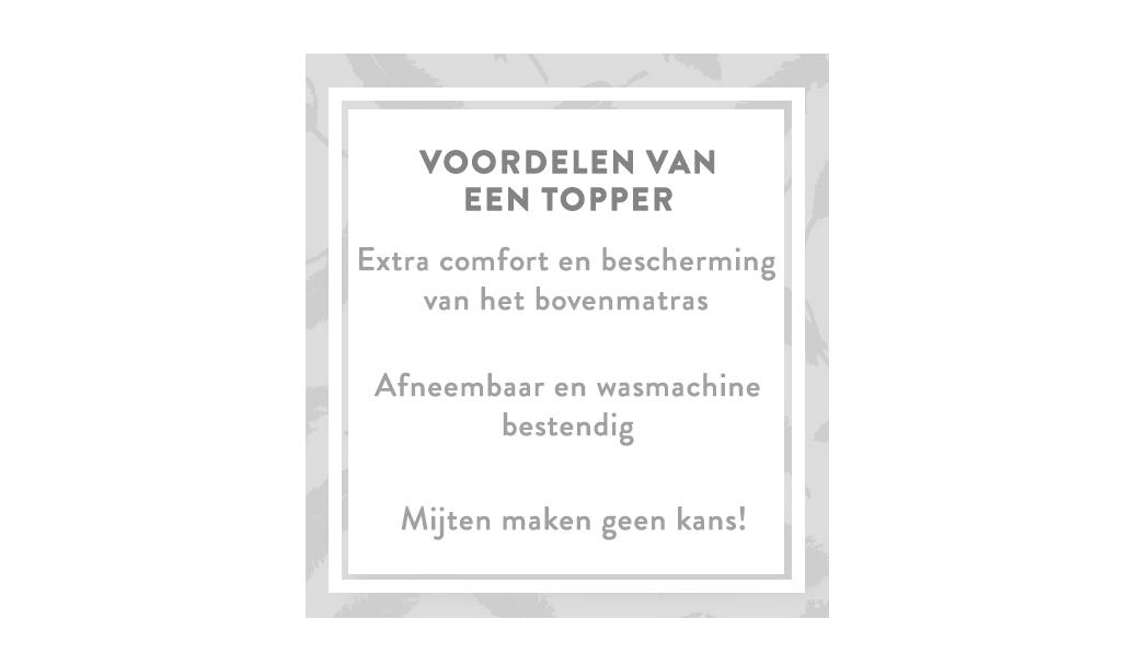 boxspring-voordelen-topper