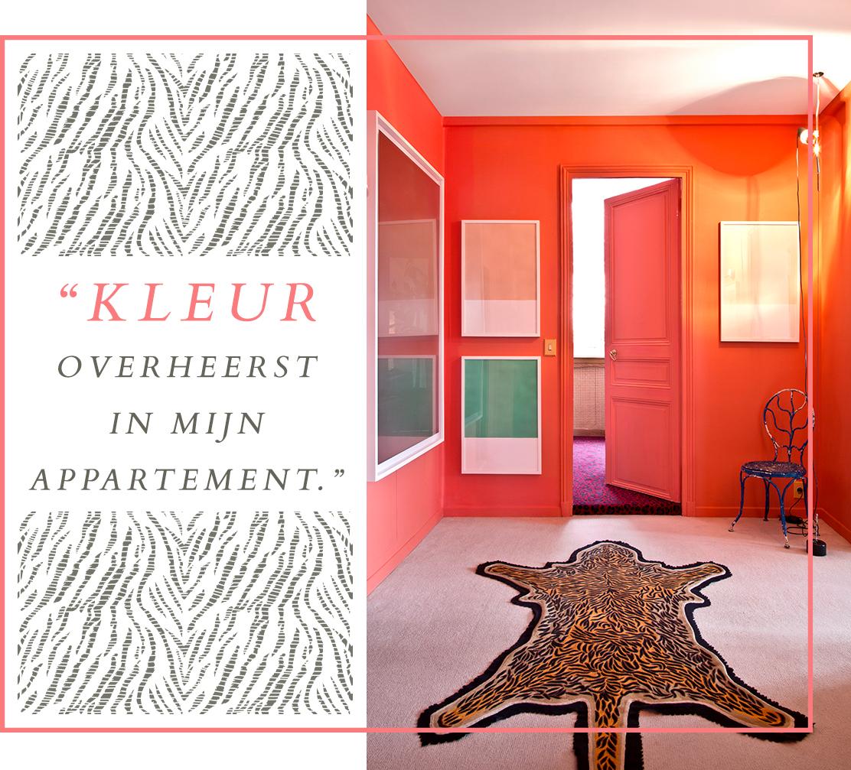 kleurrijk-interieur-perzik-roze-entreehal