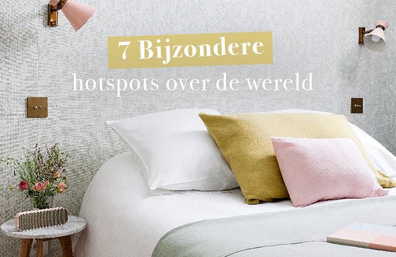 In the spotlights: 7 Bijzondere hotels over de wereld