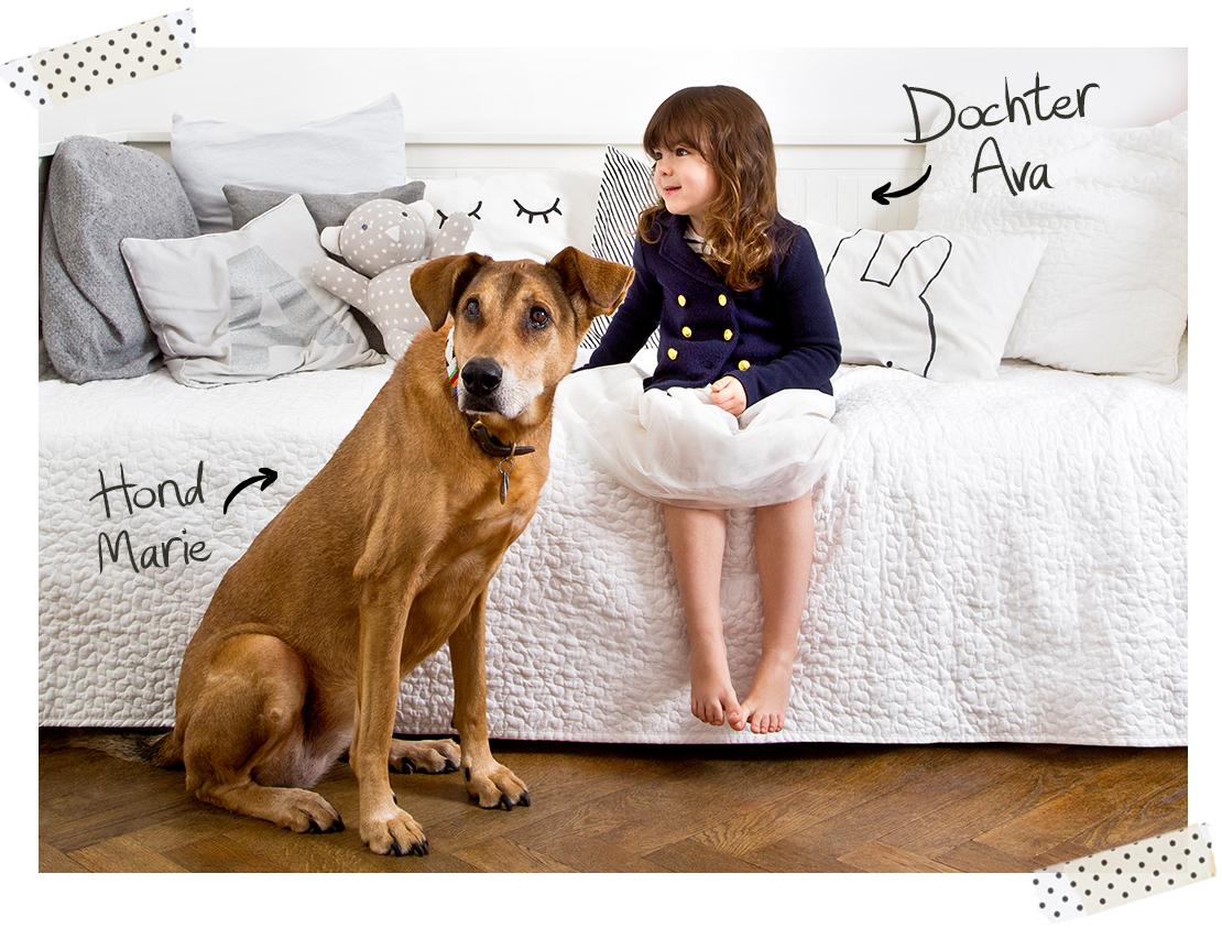 Scandinvische-stijl-dochter-ava-met-hond