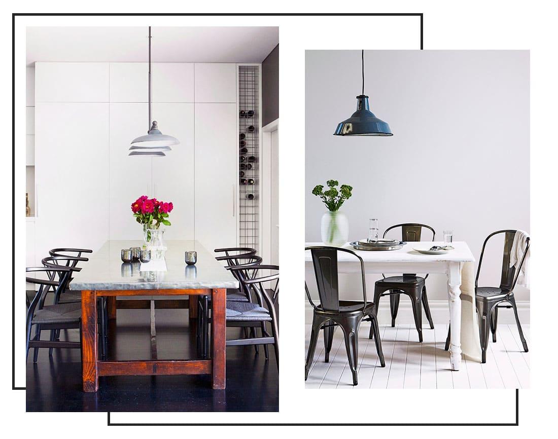 in de spotlights lampen voor de eetkamer westwing magazine. Black Bedroom Furniture Sets. Home Design Ideas