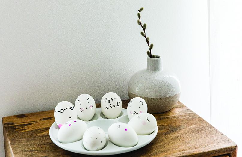 Zo gezellig kan eieren versieren zijn