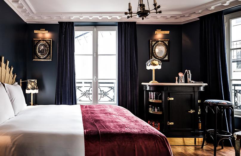 De look van boetiekhotel Providence in Parijs