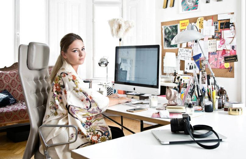 Binnenkijken bij Laura Karasinski in Wenen