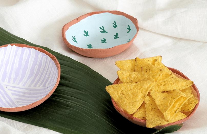 Nacho schaal DIY: snack in stijl