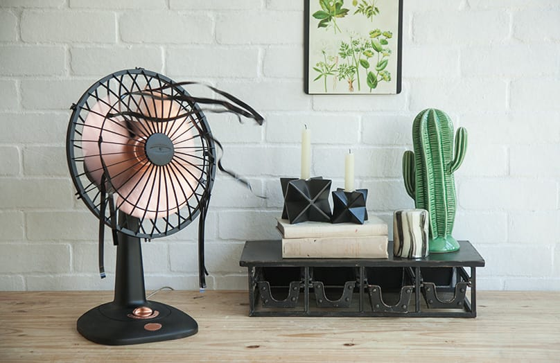 Voor & Na: Oude ventilator