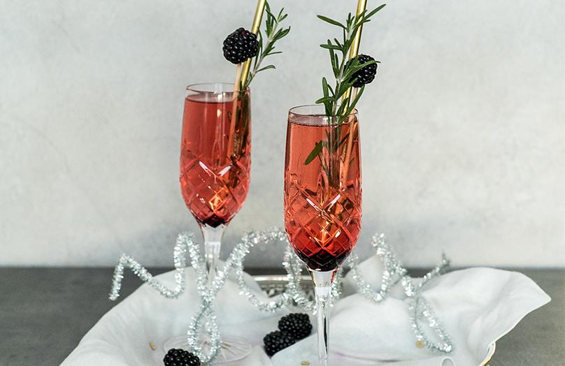 Smaakvolle nieuwjaarscocktail