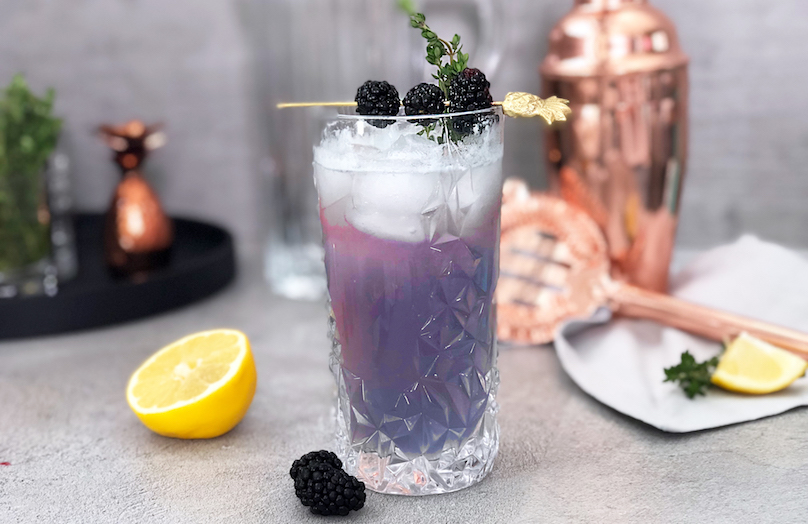 How to... Blackberry Gin Fizz