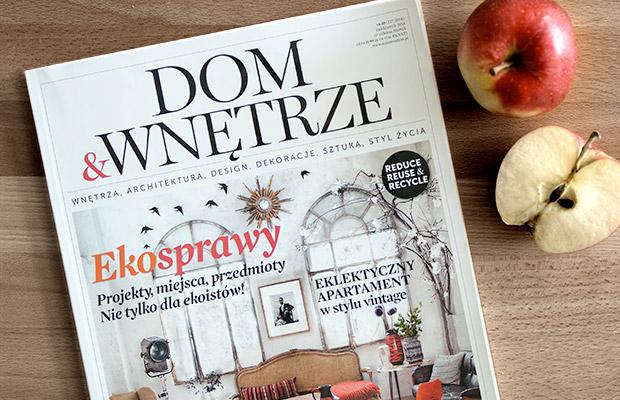 Październik w magazynie Dom&Wnętrze