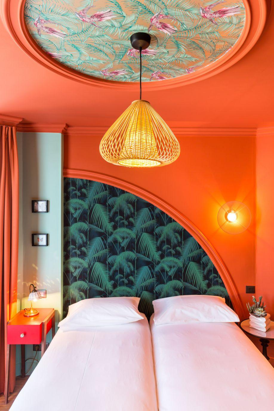Westwing-Villa-Bougainville-hotelowa sypialnia