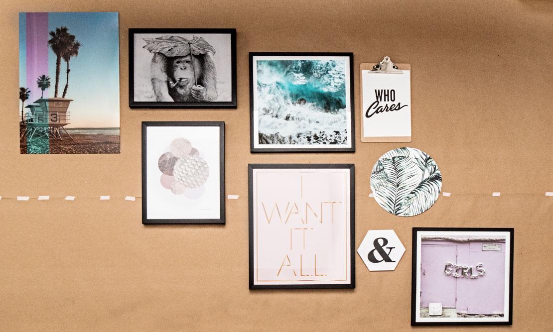 galeria zdjęć na ścianę