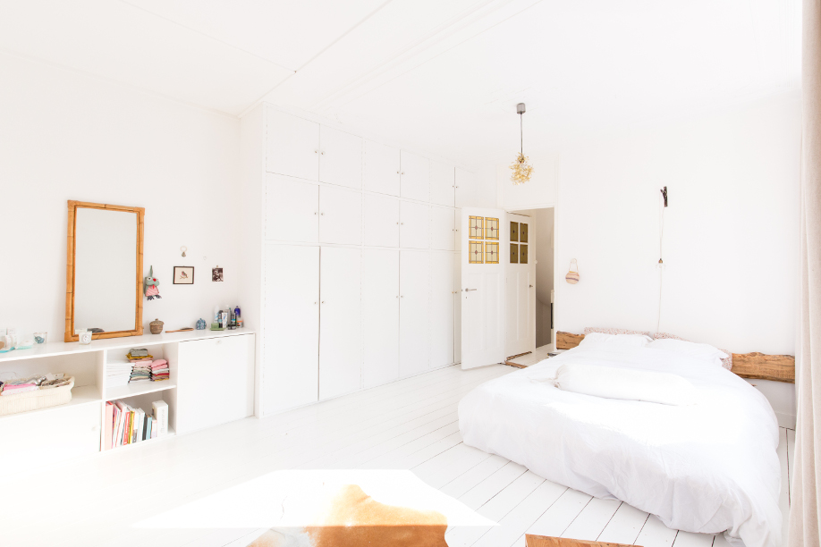 piękny dom - sypialnia Lenneke