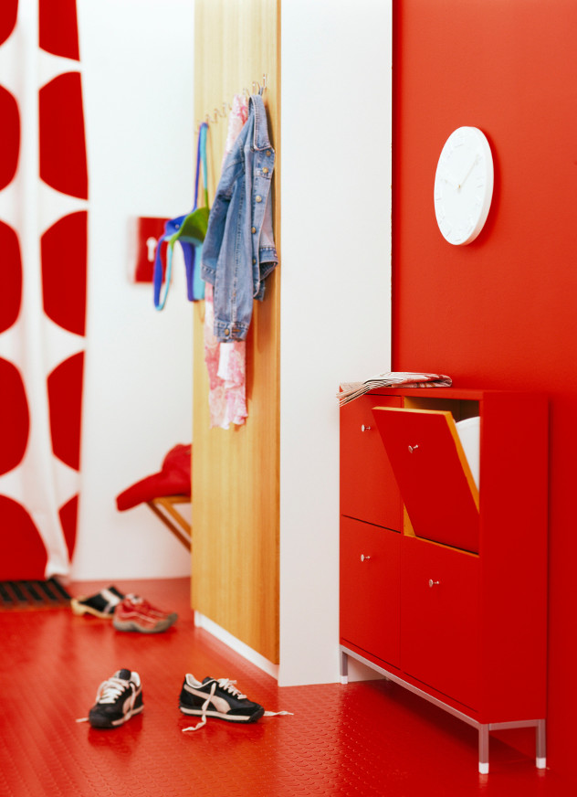 kolory ścian red