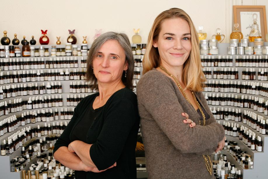 Camille Goutal und Isabelle Doyen_2007