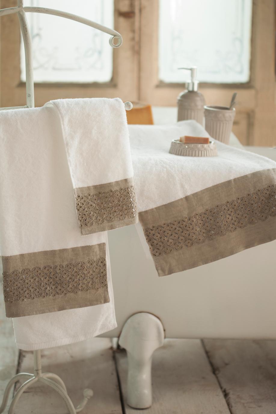 ręcznik i wanna retro La fabbrica del Verde