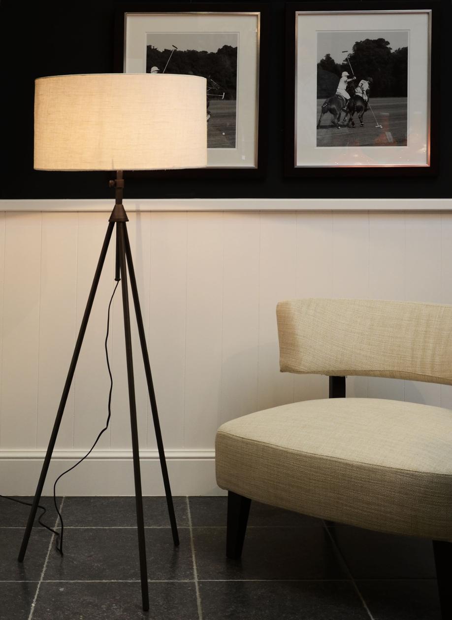 stojące lampy do salonu