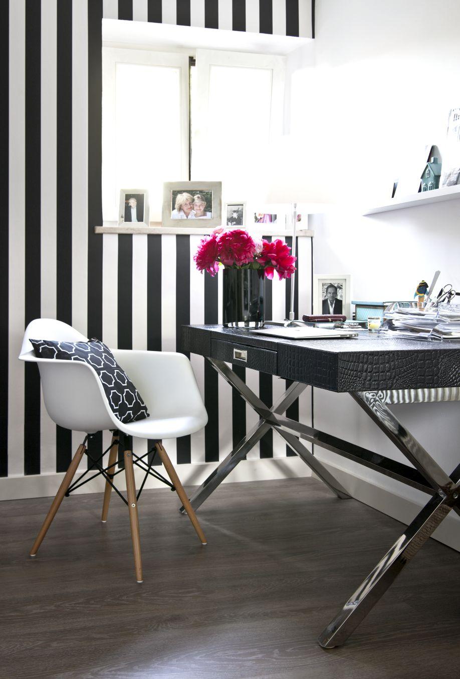Inspirujące mieszkanie w stylu glamour