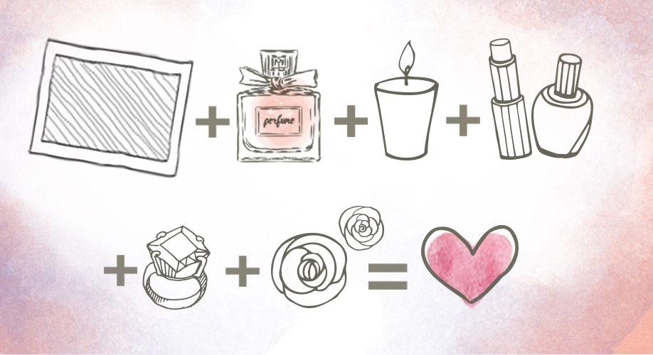 Dekoracja z perfum