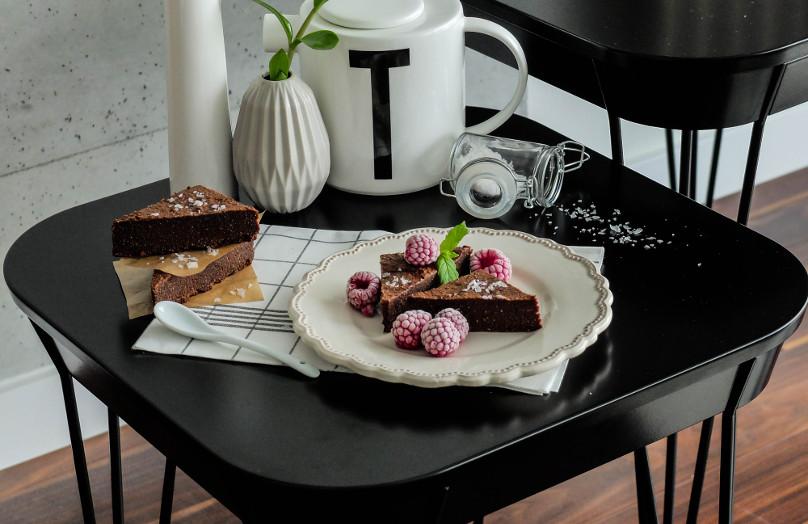 Beata Śniechowska i jej bezglutenowe brownie z Flor de Sal