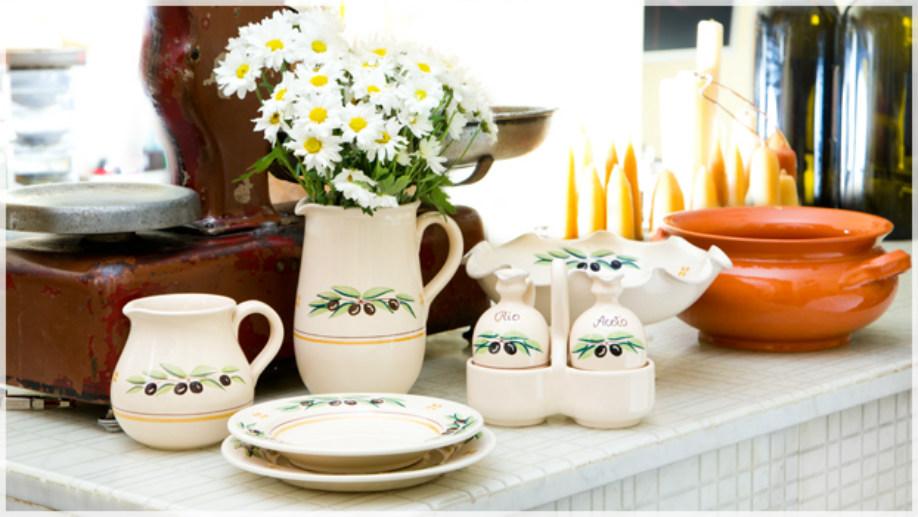 ceramika w stylu prowansalskim