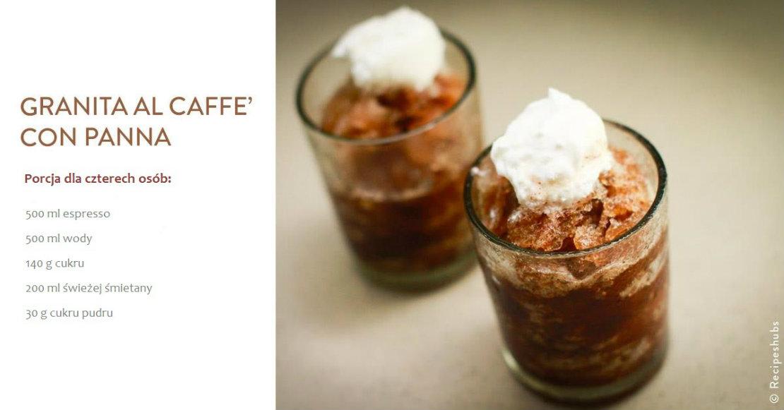 granita kawowa przepis