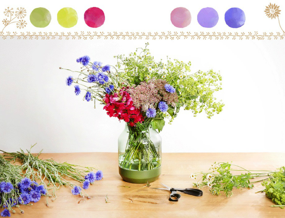 kolorowe kwiaty na lato