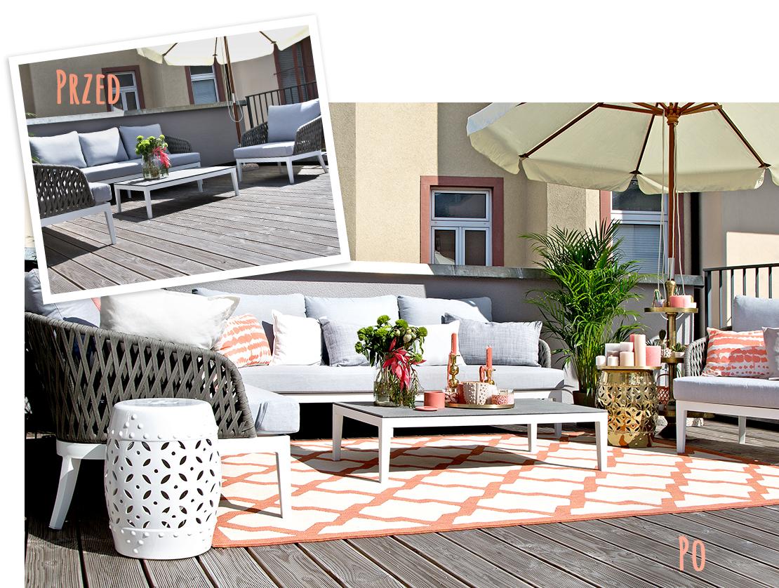 jak urządzić balkon na lato