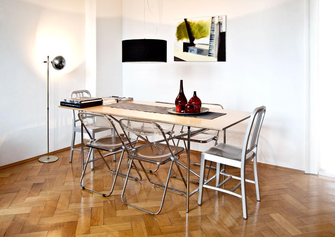 nowoczesne przytulne mieszkanie