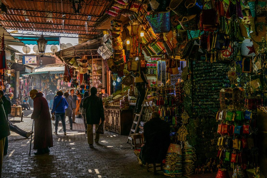 Czuj się jak u siebie YSL: Francuz w Marrakeszu.
