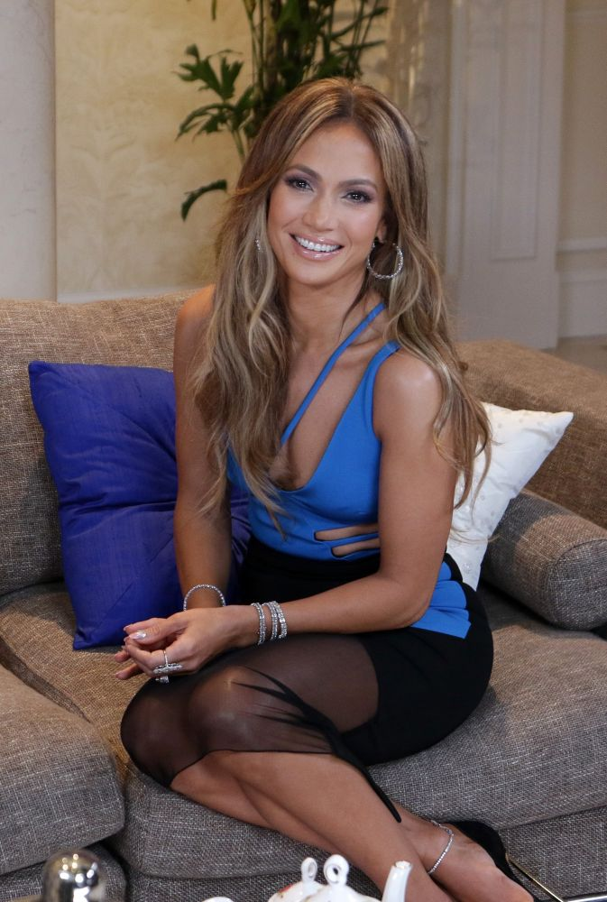 "MIAMI - FLORIDA, JANUARY 13, 2015: Jennifer Lopez is seen during the ""Nuestra Belleza Latina 2015 "" taping with Jennifer Lopez special appearance at The Mansion of ""Nuestra Belleza"" on January 13, 2015 on Miami, Florida: (Photo by Alberto E Tamargo) *** Please Use Credit from Credit Field ***"