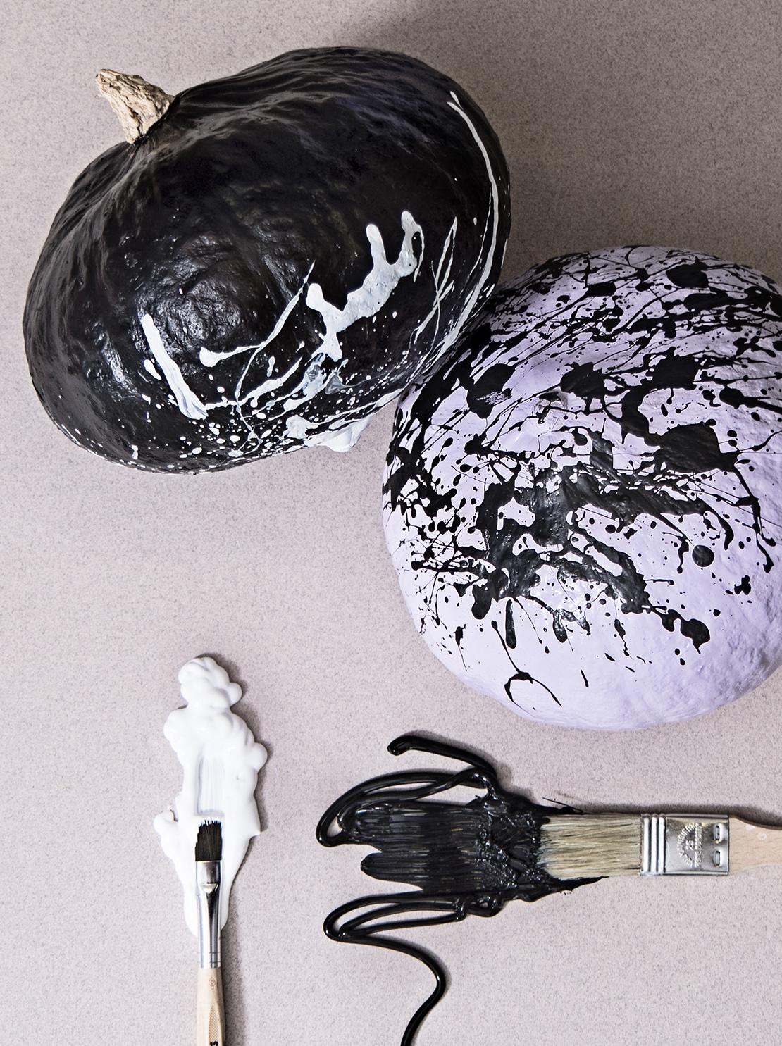 jak pomalować dynię na Halloween