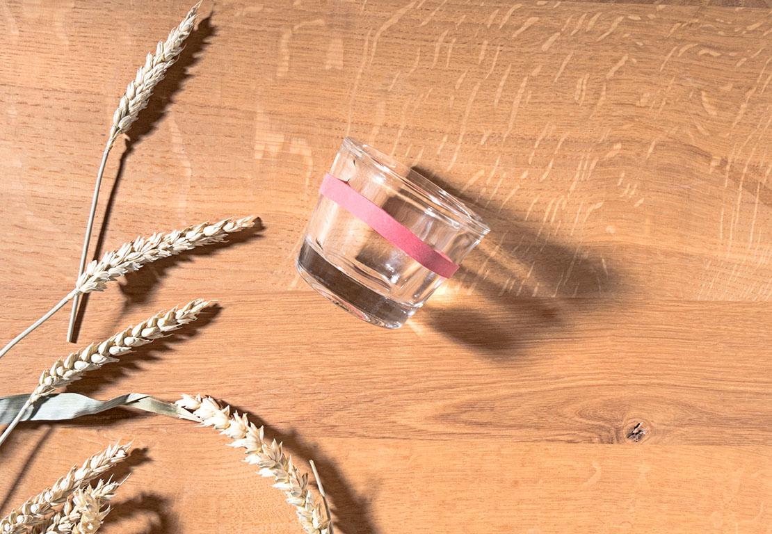 jak zrobić osłonkę na świeczkę